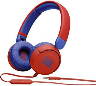 JBL JR310RED Kids wired on-ear headphones-Red
