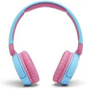 JBL JR310BTBLU Kids wireless on-ear headphones-Blue
