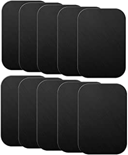 SOLDOUT™ 10 PCS Metal Plate Disk For Magnetic Mobile Cell Car Phone Holder Universal Magnet Car Stand Mount Iron Sheet Sticker (Rectangular)