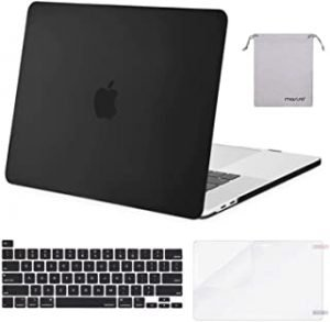 MOSISO Compatible with MacBook Pro 16 inch Case 2020 2019 Release A2141 with Touch Bar Touch ID