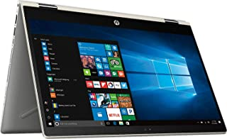 """Flagship HP Pavilion x360 14"""" 2-in-1 Full HD IPS Touchscreen Business Laptop"""