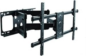 """Premim Mount - Heavy Duty Dual Arm Articulating TV Wall Mount Bracket for 85"""" Sony XBR85X950G LED 4K UHD HDR Smart TV (Android TV) XBR-85X950G Tilt & Swivel with Reduced Glare - Buy Smart!"""