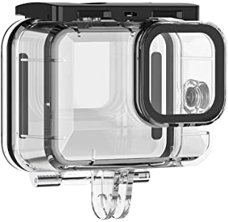 Action Camera Protective Waterproof Case Cover Underwater 45m/148ft Diving Housing Underwater Accessories Replacement for GoPro Hero 9 Black Camera