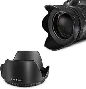 O Ozone Professional 67mm Tulip Flower Lens Hood [ Compatible for Nikon