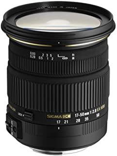 Sigma 17-50mm F2.8 DC OS HSM Large Aperture Standard Zoom Lens for Sony Digital DSLR Camera