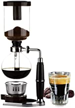 Moonmen Siphon Coffee Maker Home Balance Manual Coffee Machine with Alcohol Lamp