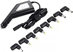 Network peripheral supplies Laptop Notebook Power 90W Universal Car Charger with 8 Power Adapters & 1 USB Port for Samsung