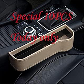 10PCS Car Side Seat Organizer For Drinks Key Wallet Phone Sunglasses
