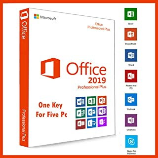 Office 2019 Professional Plus Retail License   One Key For 5 Pc ✅ Multi Devices