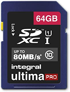 Integral UltimaPro 64 GB SDXC Class 10 Memory Card