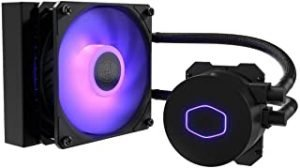 Cooler Master MasterLiquid LC120E RGB All-in-one CPU Liquid Cooler with Dual Chamber Pump Latest INTEL 120mm MLW-D12M-A18PC-R2