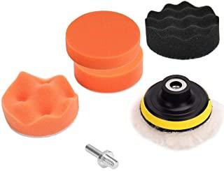 Car Polisher Pad Buffer Gross Polish Polishing Kit Set Drill Adapter