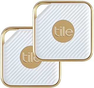 Tile Pro Style Bluetooth Tracker - White/Gold