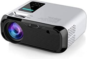 Ningshine E500H 1280x720 720P Portable Multimedia Games HD LED Smart Projector Children Projector (Android 6.0) High definition intelligence