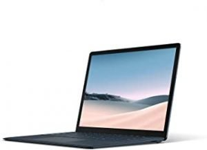 "Microsoft Surface Laptop 3 Ultra-Thin 13.5"" Touchscreen Laptop (Cobalt Blue) - Intel 10th Gen Quad Core i5"