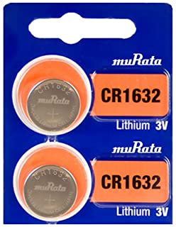 SONY CR1632 is now Murata CR1632 3V Lithium Coin Battery Fresh (2 Batteries)