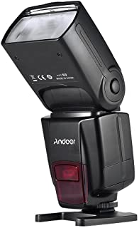 Andoer AD560 IV 2.4G Wireless Universal On-camera Slave Speedlite Flash Light GN50 with Flash Trigger for Canon Nikon Sony