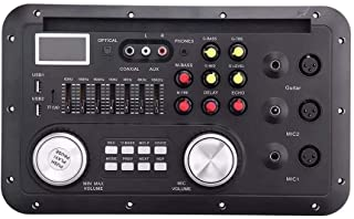 DB Amplifier board DSP stereo Bluetooth function MP3 Decoder Board Karaoke Preamp Mixer EQ Home Theater Lossless Fiber Coaxial Equalizer for Amplifier Audio Safe and durable