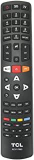 Allimity RC311 FMI3 Remote fit for TCL 4K 3D LED LCD Smart TV L43P1US L50P1US L50C1US L55P1US L43P2US L49P2US L55P2US L65P2US LED49D2930US L32S4690S L40S4690FS L50S5610FS L50S5600FS L55S4690FS
