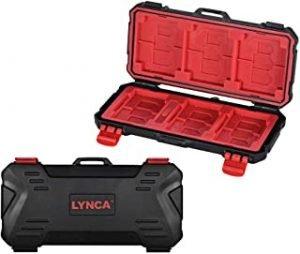 KH 15 Water-resistant XQD/CF/TF/MSD/SD/Micro SIM/NANO Memory Card Case Box Keeper Carrying Holder Storage Organizer 36 Slots for Sandisk Transcend Lexar Kingston
