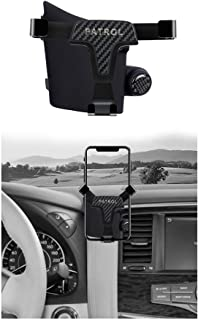 Car phone holder With balm essence dedicated to Nissan Patrol Y62 2013-2019 year gravity holder stable car communication holder(Ordinary phone holder)