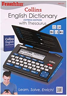 Franklin Collins English Dictionary with Thesaurus Express Edition (DMQ-221)