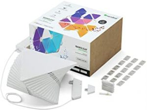 Nanoleaf Rhythm Edition Smarter kit - Modular LED lights expansion- home decor Touch