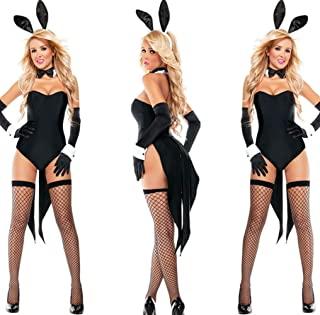 Adult game clothing Sexy Bunny Costume Halloween Costume Cosplay Sexy Siamese Bunny Uniform Halloween Costume