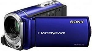 Sony DCRSX33EL Flash Memory Handycam Camcorder - Blue