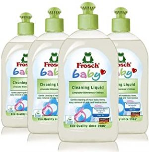 Frosch Baby Bottle & Toy Cleanser - 500ml (Pack of 4 )