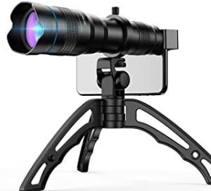 Apexel High Power 36x HD Telephoto Lens with Tripod for iPhone XR