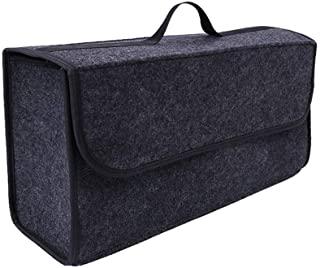 car Soft Storage Box Trunk Bag Travel Storage Organizer holder car accessories Deep Grey