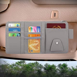 Multifunctional Car Storage Pouch Car Sun Visor Organizer