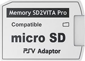 Skywin SD2Vita PS Vita Micro SD Memory Card Adapter Compatible with PS Vita 1000/2000 3.6 or HENkaku System