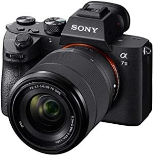 Sony Alpha A7 III Full-Frame Professional Camera 35mm sensor with SEL2870 Interchangeable Lens