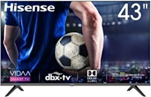 Hisense 43 inch 43A6000F FHD SMART LED TV