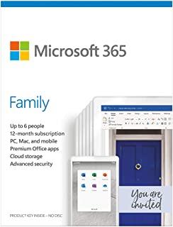 Microsoft 6GQ-01172 O365 Home