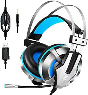 EKSA Stereo Gaming Headset for PS4