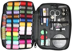 Sewing Kit with 97 Sewing Accessories 24 Colors Assorted Thread Spools 30 Needles Sewing Supplies for Travel Emergency Mending Repairing & DIY Crafting