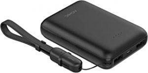 Mini power bank ACMIC power 10000mAh power bank portable charger