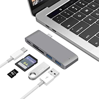 ALOK 5 in 1 USB C Hub 1 x Type C PD 40Gbps