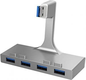 Sabrent 4-Port USB 3.0 Hub For iMac Slim Uni-body (HB-IMCU)