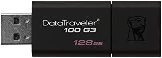 KingstonDT100G3/128GB DataTraveler 100 G3 USB 3.0 Flash Drive