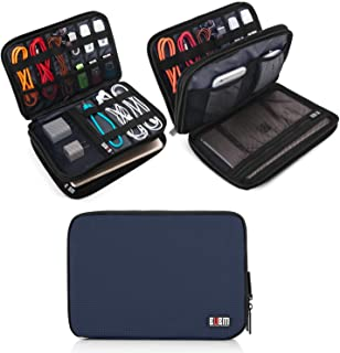 Roll over image to zoom in BUBM Double Layer Electronic Accessories Organizer