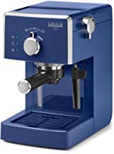 Gaggia Viva Chic Midnight Blue Manual Coffee Maker 1025W 1 Cup ABS
