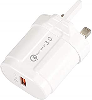 iElements USB Wall Charger Plug - All Compatible Mobile Phones/iPad/iPod/Tablets Fast Charging