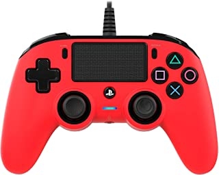 Nacon Wired Compact Controller for PlayStation 4 - Red