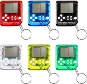 KDRose 6 Classic Game Keychains