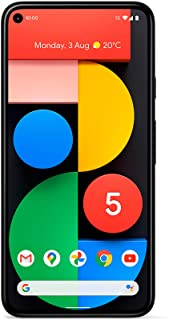 Google Pixel 5 128GB + 8GB 5G Factory Unlocked Google Edition - Just Black