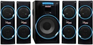 5 Core HT-4114-BT Bluetooth Home Theater System 4.1 Home Cinema 45 W Bluetooth Home Theatre (Black